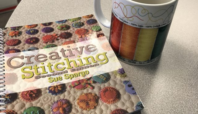 coffee & stitching book